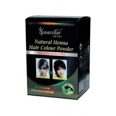 NATURAL HENNA HAIR COLOR POWDER (NATURAL BURGUNDY) 200 GM (PACK OF 10 SACHETS = 20GM X 10 SACHETS)