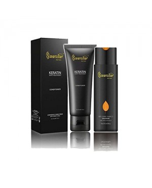 SWARZSTAR KERATIN HAIR CARE CONDITIONER AND SHAMPOO