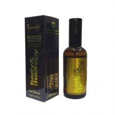 SWARZSTAR MOROCCO ARGAN OIL HAIR SERUM GOLD & SILVER 110G/3.74FL.OZ.